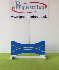 Blue and Yellow Bow Tie Show jump Filler-For Showjumping