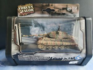 German King Tiger Normandy 1944 Solido Forces of valor 150567 1/72 neuf