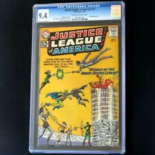 Justice League of America #13 (DC 1962) 💥 CGC 9.4 💥 ONLY 4 HIGHER Speedy Comic
