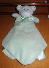 Toys R Us Especially For Baby Green Monkey Lovey Security Blanket Flaw