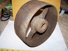 "Cast Iron Belt Pulley Hit Miss Gas Engine Motor Steam Magneto Pump 1 5/16"" Bore"