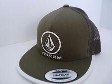 NEW VOLCOM SURF TRUCKER BEACON CHEESE OLD BLACKBOARD SNAPBACK HAT CAP VL34