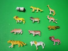 New ! 12PK Toy  Animal Kingdom Camel Lion Tiger Assorted Size:1.5