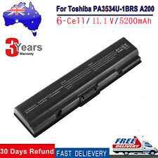 Laptop Battery for Toshiba PA3534U-1BRS PA3534U-1BAS PABAS098 SATELLITE A215 CLG