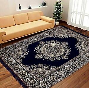 5 x 7 Ft  Abstract Rug Washable For Home Decor - Multicolor - Rectangular Shaped