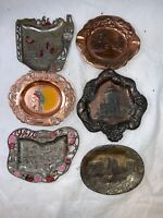 Vintage Lot of 6 Ohio State Ashtrays A629