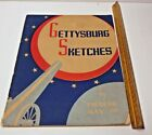 Vintage GETTYSBURG SKETCHES by Frederic Ray, Jr. - 1939  Edition  Book