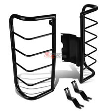 FOR 06-10 HUMMER H3 SUV BLACK COATED STAINLESS STEEL TAIL LIGHT/LAMP GUARD KIT