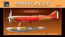 SBS Model 7016 1/72 Macchi MC 72 'Early version' full resin kit