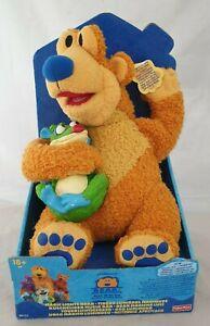 Der Bär im großen blauen Haus Magic Lights Bear - Playskool Vintage unbespielt