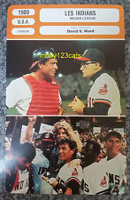 US Baseball Comedy Major League Tom Berenger Charlie Sheen French Trade Card