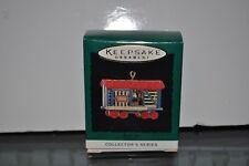 1994 Hallmark Keepsake Miniature Ornament Stock Car,Noel R.R., #6 in Series, NIB