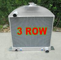 Aluminum custom radiator Ford model A chopped w/Chevy engine 1928-1931