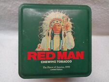 REDMAN CHEWING TOBACCO TIN 1990