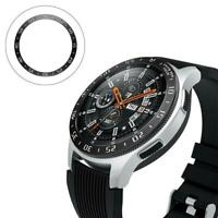 For Samsung Galaxy Watch 46MM Bezel Ring Adhesive Cover Anti Scratch Metal Ring