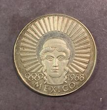 1964 Argenteus 1 Silver Ducat, Mexico Olympics 1968, Werner Graul
