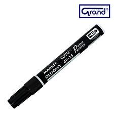 Universal Nero vernice marcatore a base di olio penna per IMPERMEABILE legno vetro plastica Pneumatico