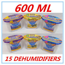 15 X ROOM DEHUMIDIFIER AIR FRESHENER CARAVANS WARDROBES BOATS GARAGE CUPBOARD AP