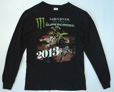 AMA Supercross 2013 Mens S Monster Energy Las Vegas NV May 4 T-Shirt Two Sided
