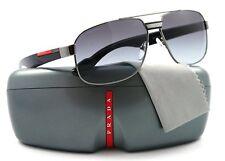 NEW Prada Sport Sunglasses SPS 54MS 5AV-3M1 Gunmetal / Grey Gradient Lens