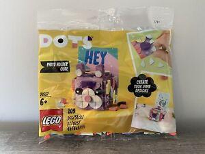 LEGO Dots Photo Holder Cube Polybag (30557) *BRAND NEW & SEALED!*