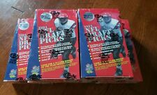 5X 1994 CLASSIC NFL DRAFT PICK FOOTBALL BOXES. FACTORY SEALED - Free Ship