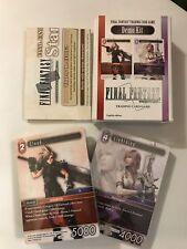 Final Fantasy - FF - DEMO KIT - Trading Card Game - TCG 2x 30 card deck