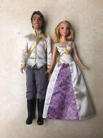 DISNEY TANGLED EVER AFTER WEDDING Rapunzel Flynn Doll