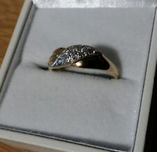 Ring, 585 Gold,  Brillanten  0.24cr