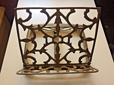 ART DECO VTG ORNATE RECIPE BOOK IPAD STAND HOLDER KITCHEN ACCESSORY STATEMENT