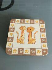 Set of 6 Cats Coasters