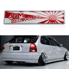3D Rising Sun JDM Emblem Badge Sticker For Car Front Grille Side Fender Trunk