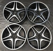 4 AMG Mercedes-Benz Jantes 7,5J x 18 ET52 A B CLA W176 W246 C117 A1764010302