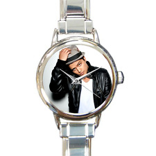NEW Bruno Mars Watch Italian Charm Watch Bracelet Great Musical Gift for Fans!