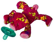 Mary Meyer WubbaNub Infant Newborn Baby Soothie Pacifier ~ Pigtail Pig