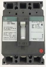 Ge Ted134020Wl Circuit Breaker, 20A, 480V, 250Vdc, 3 Pole, Used, Factory Buyout
