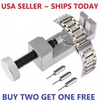 Adjustment Watch Band Strap Bracelet Link Pin Remover Repair Resizing Tool Kit