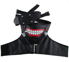 Tokyo Ghoul Kaneki Ken Mask Costume Adjust Zipper Prop Halloween Cosplay Party
