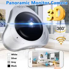 360° Panoramic Monitor 3D VR 960P Fisheye Wifi IP Cameras Security Surveillance