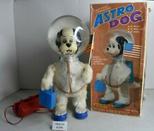 (Lot #1396) Vintage Yonezawa Toys Battery Operated Japan Astro Dog Boxed Working