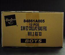 Star Wars SAGA Hasbro Factory Sealed Case WV. 2 R3 '03 AOTC 12 Action Figures