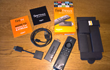 KODI 17.6 Amazon Fire Stick Latest version 2nd GEN Alexa Voice Remote NEW