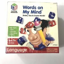 Words on My Mind LSP 8407-t Game by Learning Resources Ages 7 Homeschool