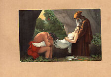 The burial of Atala Girodet Louvre Misch &Co Worlds gallery No1091 art card  ba2