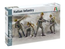 WWI Italian Infantry 1915 Plastic Kit 1:35 Model ITALERI