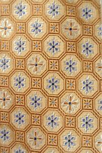 Robert Talbott Best of Class Gold/Light Blue Geometric Necktie Size: REGULAR