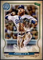 Justin Turner 2020 Topps Gypsy Queen 5x7 #92 /49 Dodgers