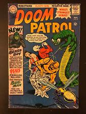 Doom Patrol #99 1965 First Printing DC Comic Book. 1st Beast Boy Teen Titans