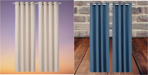 New* MAJRID Blackout Curtains, 1 pair 2 different colors 145x250 cm *Brand IKEA*