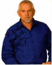 JOHN RATZENBERGER Autographed Signed Photograph - To Nick